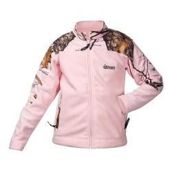 Girls' Rocky Fleece Jacket HW00048 Mossy Oak Winter Camo/Pink