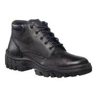Women's Rocky RTMC Plain Toe Chukka 5105 Black Full Grain Leather