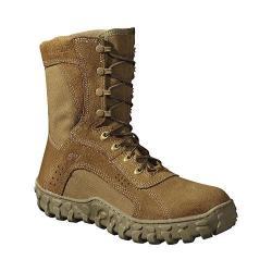 Men's Rocky S2V 8in Protective Steel Toe 6104in Boot Coyote Brown