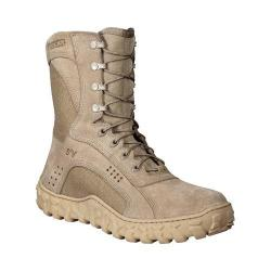 Men's Rocky S2V 8in Vented Military Duty Boot 105 Desert Tan
