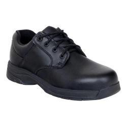 Women's Rocky SlipStop Plain Toe Oxford 234 Black Full Grain Leather