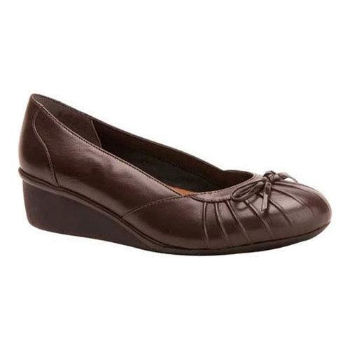 Women's Ros Hommerson Ella Dark Brown Kidskin