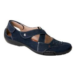 Women's Ros Hommerson Carrie Dark Blue Nubuck