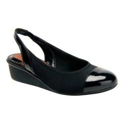 Women's Ros Hommerson Emma Black Stretch/Patent