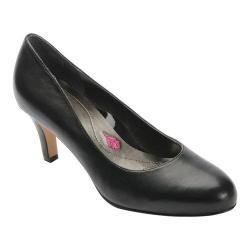Women's Ros Hommerson Janet Pump Black Leather