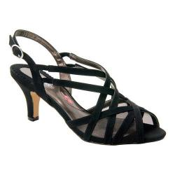 Women's Ros Hommerson Lacey Black Microtouch