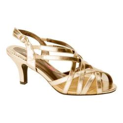 Women's Ros Hommerson Lacey Matte Gold PU