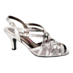 Women's Ros Hommerson Lacey Matte Silver PU