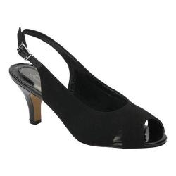 Women's Ros Hommerson Lana Black Microtouch Fabric