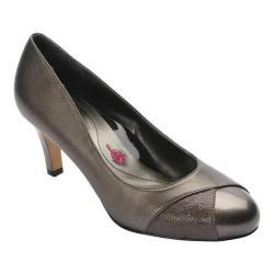 Women's Ros Hommerson Joyce Cap Toe Pump Pewter Combo