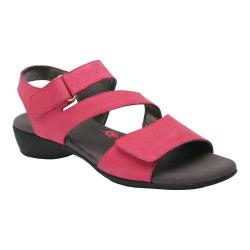 Women's Ros Hommerson Marilyn Fuchsia Nubuck Leather