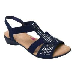 Women's Ros Hommerson Mellow Sandal Navy Fabric (More options available)