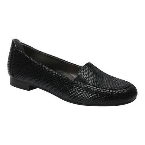 Women's Ros Hommerson Regan Loafer Black Leather