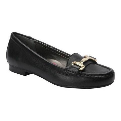 Women's Ros Hommerson Regina Loafer Black Leather