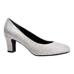 Women's Ros Hommerson Valeda Pump Silver Glitter