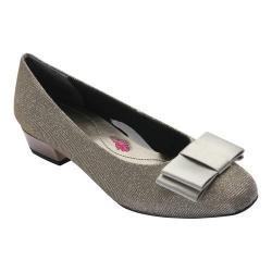 Women's Ros Hommerson Teddi Pump Silver Glitter