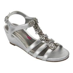 Women's Ros Hommerson Wanda Sandal Dusty Silver Leather