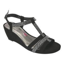 Women's Ros Hommerson Whitney Sandal Black Leather