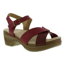 Women's Sanita Clogs Daisy Darla Ankle Strap Sandal Blossom