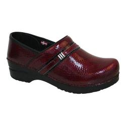 Women's Sanita Clogs Emory Clog Red