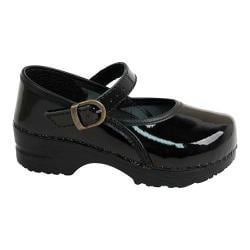 Girls' Sanita Clogs Marcelle Mary Jane Black
