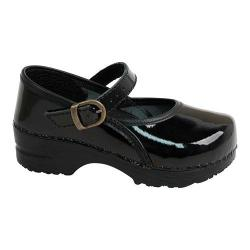 Girls' Sanita Clogs Marcelle Mary Jane Black|https://ak1.ostkcdn.com/images/products/106/913/P18705575.jpg?impolicy=medium