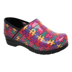 Women's Sanita Clogs Professional Aspire Multicolor