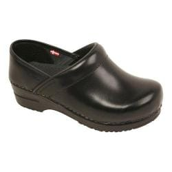 Men's Sanita Clogs Professional Cabrio Black