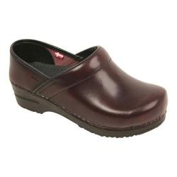 Men's Sanita Clogs Professional Cabrio Bordeaux
