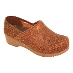 Women's Sanita Clogs Professional Gwenore Brown