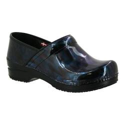 Women's Sanita Clogs Smart Step Professional Acasia Black