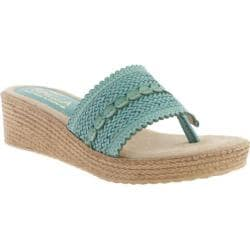 Women's Sbicca Newland Turquoise Faux Leather