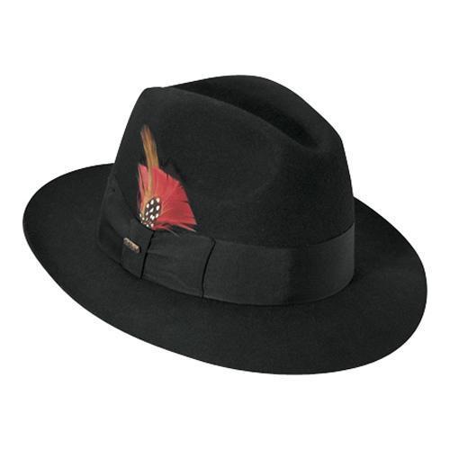 Men's Scala Fedora WF536 Black