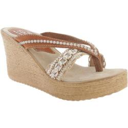 Women's Sbicca Brilliant Natural Leather/Jute