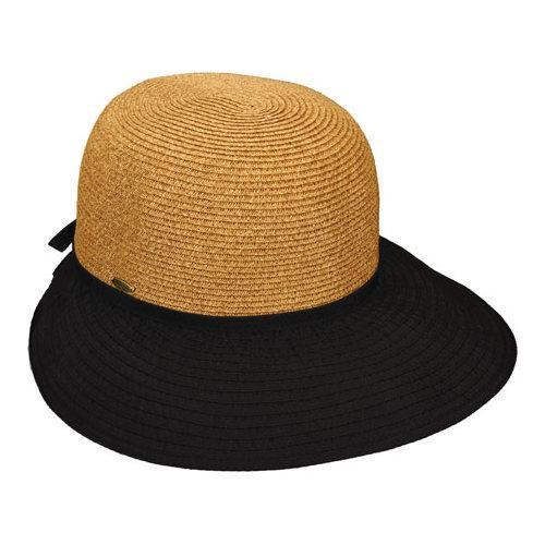 dfca8799835d1 Shop Women s Scala LP226 Braided Face Saver Sun Hat Black - Free Shipping  On Orders Over  45 - Overstock - 11796550