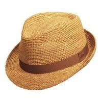 9ba12af811b37 Shop Tommy Bahama Crocheted Raffia Fedora Hat - Free Shipping Today ...