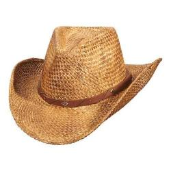 Men's Scala MS343 Pinch Front Cowboy Hat Tea