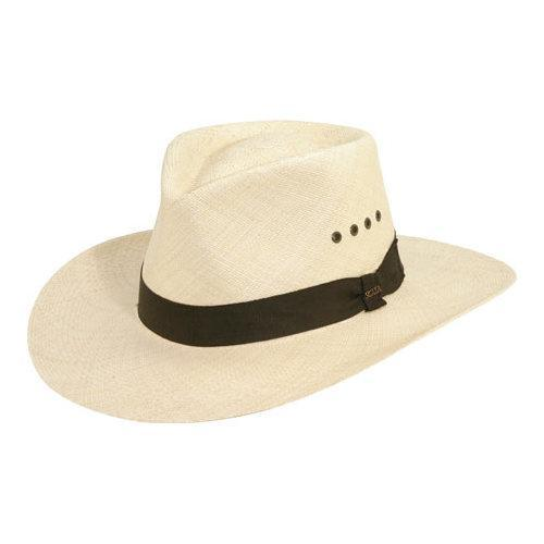 41a70969a70dc3 Shop Men's Scala P220 Outback Straw Hat Natural - Free Shipping Today -  Overstock - 11796613