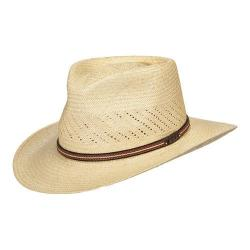 Men's Scala P221 Vented Outback Straw Hat Natural