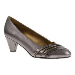 Women's Soft Style Danette Dark Pewter Vitello/Patent