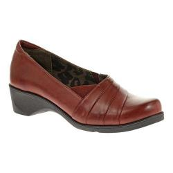 Women's Soft Style Kambra Dark Red Burnished