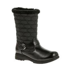 Women's Soft Style Pixie Winter Boot Black Vylon/Vitello