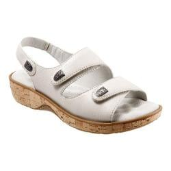 Women's SoftWalk Bolivia Off White Soft Tumbled Leather