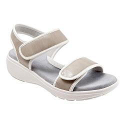 Women's SoftWalk Elevate Grey/White Maple Veg/Kid Leather