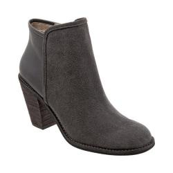 Women's SoftWalk Frontier Boot Graphite/Dark Grey Cow Suede/Full Grain Leather