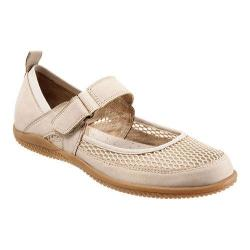 Women's SoftWalk Haddley Mary Jane Sand Nubuck Leather/Soft Mesh Fabric