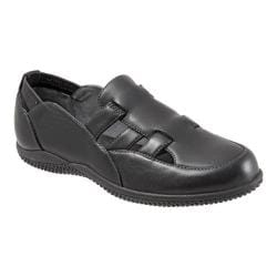 Women's SoftWalk Hampton Black Soft Kid Leather