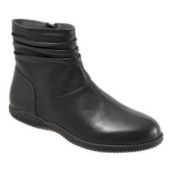 Women's SoftWalk Hanover Boot Black Soft Nappa Leather