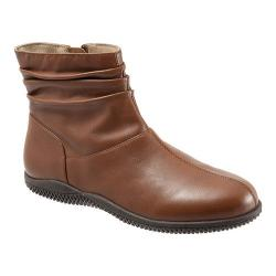 Women's SoftWalk Hanover Boot Cognac Soft Nappa Leather