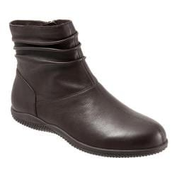 Women's SoftWalk Hanover Boot Dark Brown Soft Nappa Leather